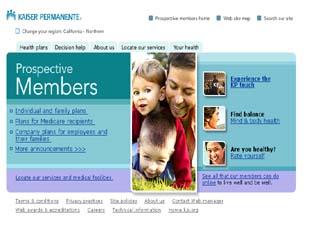 Kaiser Permanente Interactive Health Plan Advisor image